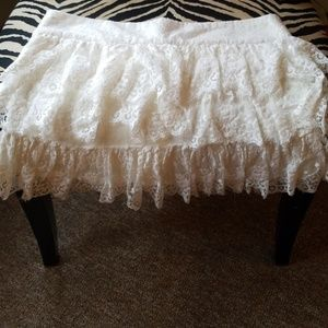 Lacey skirt with shorts underneath